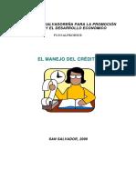 El Manejo Del Credito