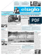 Edición Impresa Elsiglo 16-10-2016