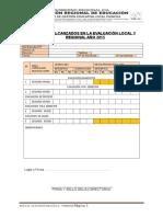 Formato Entrega de Documentos 2015