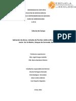 Informe Hidrogeologico zona de Coronado, Costa Rica