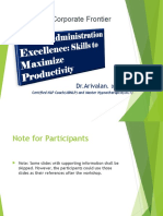 Office Administrative Excellence to Maximize Productivity