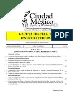 Plan Rector de Areas Naturales Protegidas Del DF