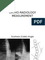 Ortho Radiology Measurement