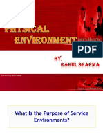Service Physical Environment