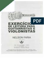 Exercicios de Leitura Para Guitarra e Violão-Nelson Faria