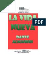 La_Vida_nueva - Dante Aligheri