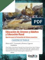 Educación de Jóvenes y Adultos y Educación Rural