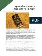 Caida Del Oro