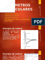 PARÁMETROS MOLECULARES