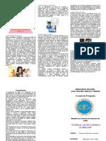Dtripticouniversidad Nacional Jose Faustino Sanchez Carrion