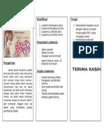 Leaflet Leukimia