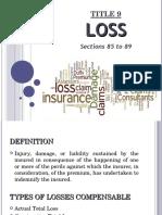 Title 9 LOSS PPT Presentation v1