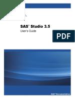 SAS Studio 3.5 User Guide