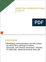 5.IMC Brand Equity