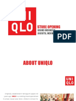 FASHION EVENTS ASSIGNMENT - UNIQLO OPENING