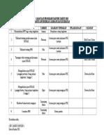 Cadangan Program Tahun 2015