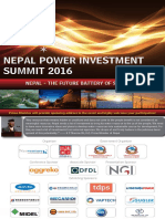 Hydro Power Summit in Nepal