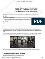 The Moving Target Kettlebell Complex - StrongFirst