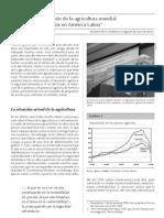 La situación de la agricultura mundial y sus efectos en América Latina