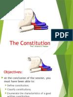 e the Constitution