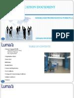 Lumara Pre - Qualification Document