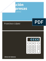 Valoracion de Empresas (Capitulo Gratis) Francisco López Martínez