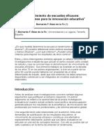Escuelas eficaces / Informe Coleman