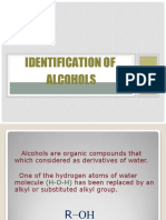 Identification of Alcohols