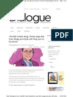 Bill Cohen Blog Three Ways Krav Maga