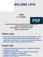LIPID Metab 2012