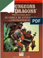 [D&D 1e BD&D ITA] B1-9 - In Cerca Di Avventura