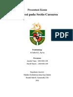 Case Presentation Cover