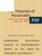 The Theories of Personality