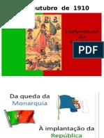 5 de Outubro - Implantação Da República