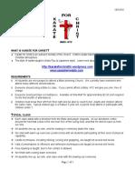 Karate for Christ Handbook - General Info