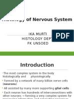 K3. 2014 11 10 Histology of Nervous System