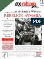 JuguetRebelión Aymara. Significados de Sorata y Warisata.(Juguete Rabioso #89, Septiembre – Octubre 2003).e