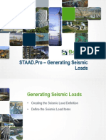 03 Generating Seismic Loads PPT