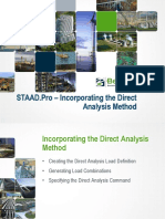 Incorporating the Direct Analysis Method_PPT
