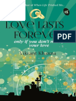 Love Lasts Forever - Vikrant Khanna