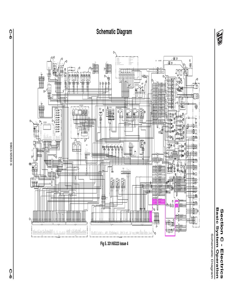 Jcb 940 Wiring Diagram | Wiring Diagram Jcb Trailer Wiring Diagram on