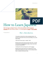 PDF eBook - How To Learn Japanese for Beginners by Linguajunkie.com