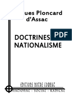 Doctrine Du Nationalisme