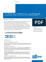 2855 10 Port Multiprotocol Muxponder