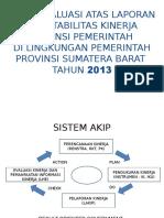 Hasil Evaluasi Lakip 2013..