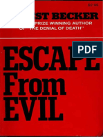 Escape From Evil - Ernest Becker.pdf