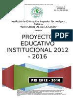 PEI 2012-2016 IESTP NOS