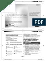 Instrucciones Microondas Samsung - 2