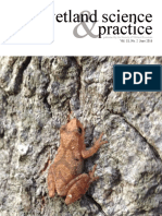 Wetland science & practice, Vol.33, No. 2, June 2016