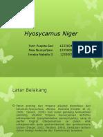Hyosycamus Niger